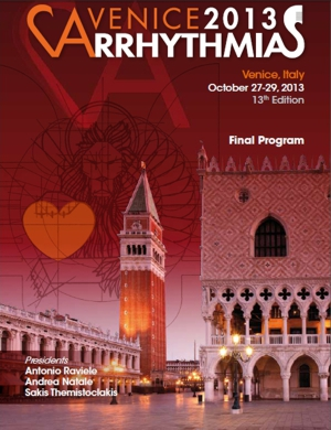 VA2013 Final Program - Venice Arrhythmias 2019 - Venice ...