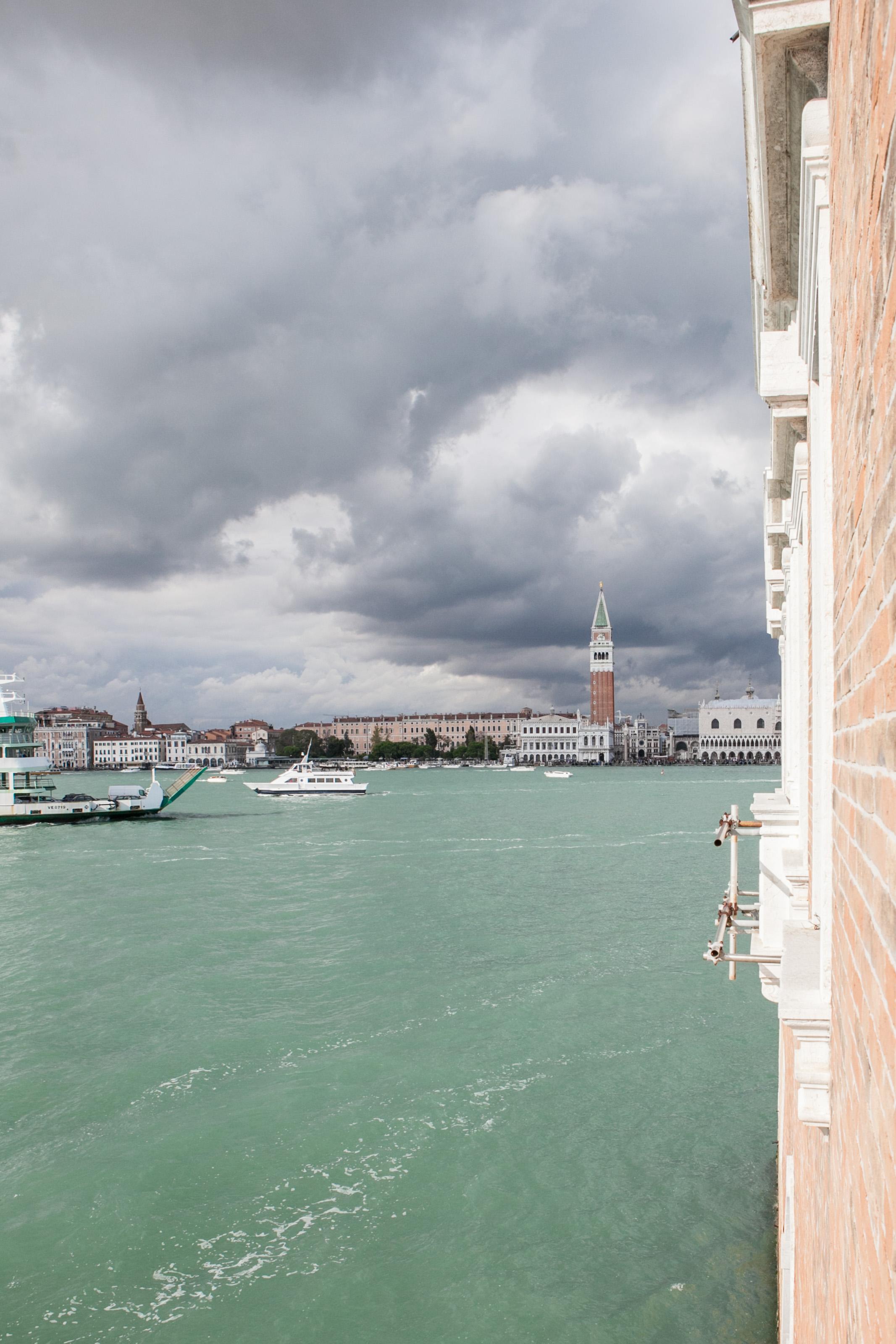 Venice view from Fondazione Cini