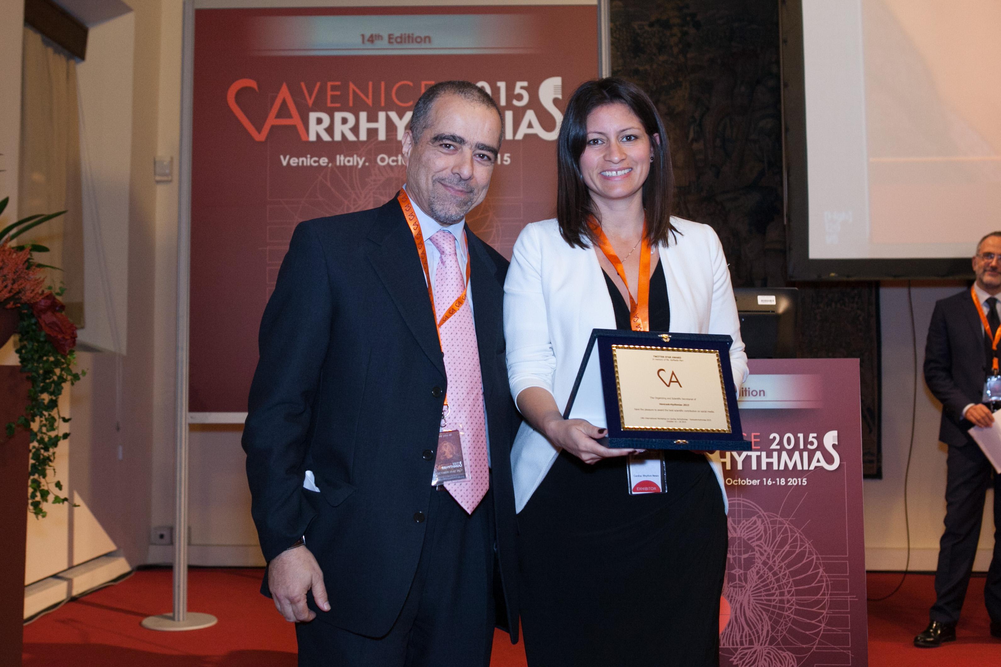 Award in memory of Raffaella Pieri