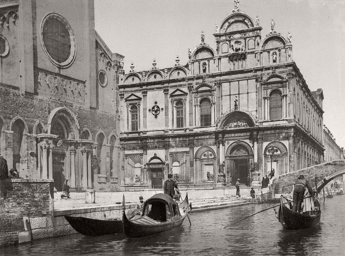 """""""In Venice, when there is the moon, seem to wander in an etching."""" Carlo Dossi, Note azzurre, 1870/1907"""